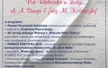 Poetycki Konstantynów 2012