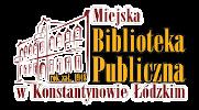 Miejska Biblioteka Publiczna w Konstantynowie Łódzkim Logo